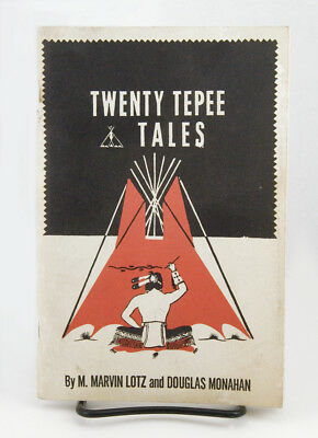 Vintage YMCA Y-Indian Guides 1950  TWENTY TEPEE TALES Lotz & Monahan EXCELLENT