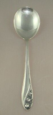 @ Gorham Lily of the Valley Sterling Silver Cream Soup Spoon