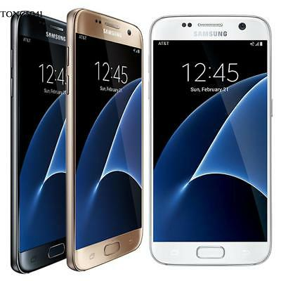 "Samsung Galaxy S7 G930V 4G LTE 32GB 4RAM 5.1"" HD 12MP Android Unlocked Phone Top"