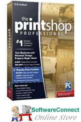 Broderbund PrintShop Professional 4 Print Shop GENUINE GUARANTEE