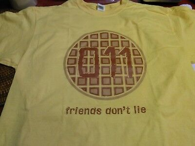 New Eleven 011 stranger things Netflix  series t-shirt size L Exclusive  Friend