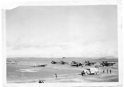 Many Different Plane Types Hamilton Field CA 1938 Army Air Corps Original Photo