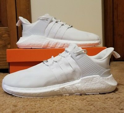 "Adidas EQT Support 93/17 Boost ""Gore-Tex"" Shoes White/Orange DB1444 Size 11.5"