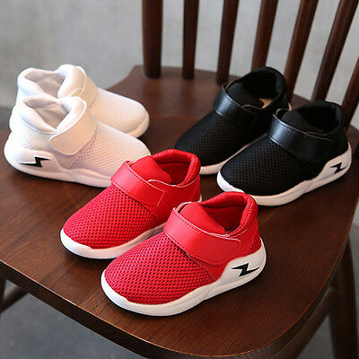 Fashion Kids Toddler Boy Girl Sneakers Sports Running Crib Shoes Trainers