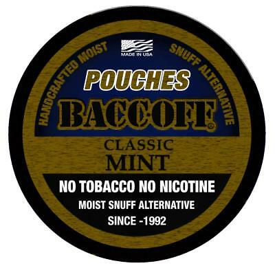BaccOff Gen II Mint Pouches 5 Cans 5 Cans