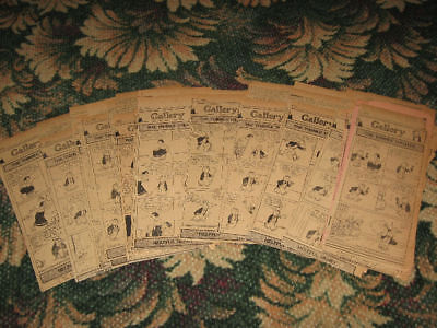 (33) Vintage 1923 THIMBLE THEATER Daily Strips E.C. Segar pre Popeye + Others!