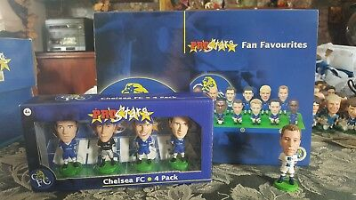 Chelsea Fc 'fan Favourites' Corinthian Prostars Special Edition Box Set + More