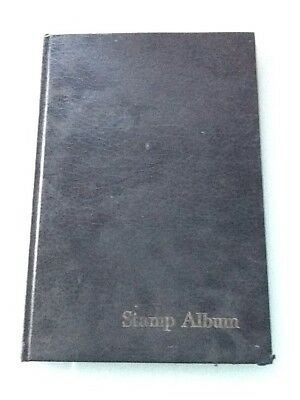 Black Empty Stamp Album