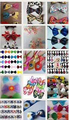 20 Dog Grooming Mixed Bow Ties and Neck Ties Designs Dog Grooming Accessories