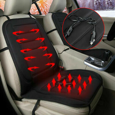 3 Level Switch Car Office Seat Heater Warmer Heated Cushion Pad Cover 12V Safe
