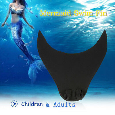 Mermaid Tails Swimming Sea-maid Diving Monofin Fin Training Tails Fin Flipper
