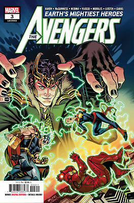 Marvel Earths Mightiest Heroes The Avengers #3 2018 First Print