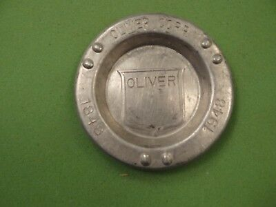 Original Oliver Tractor Advertising Ashtray #2