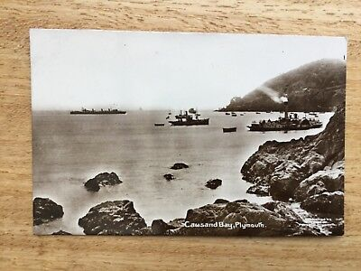 Real Photograph Postcard  - Cawsand Bay, Plymouth.