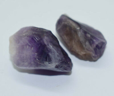 70  Ct  2 Pc Natural Superb Quality Amethydt Rough Lot For Nice Offer