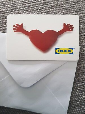 Ikea Gift Voucher. Will be signed for postage.