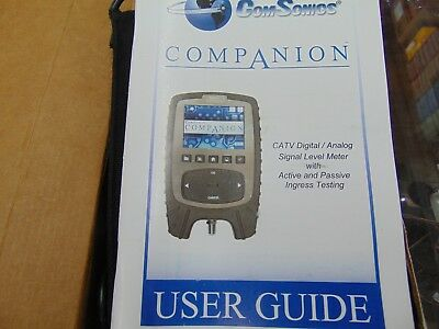 ComSonic CATV Signal Level Meter Make offer AS IS