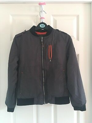 Boys, Michael Kors Charcoal Jacket. Size 10/12. Used, Good Condition.