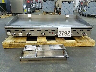 "2792-New S/D - Vulcan 72"" Thermostat Elect Ignition Griddle, Model: 972RX-30"