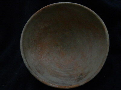 Ancient Large Size Teracotta Bowl Indus Valley 1000 BC #SG8840