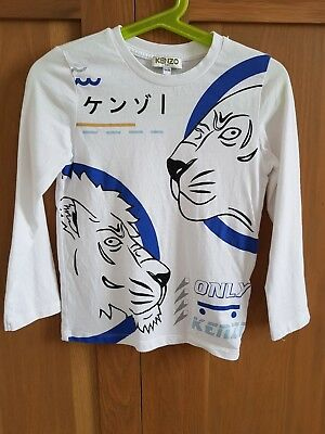 Kenzo Long Sleeved T Shirt Age 5