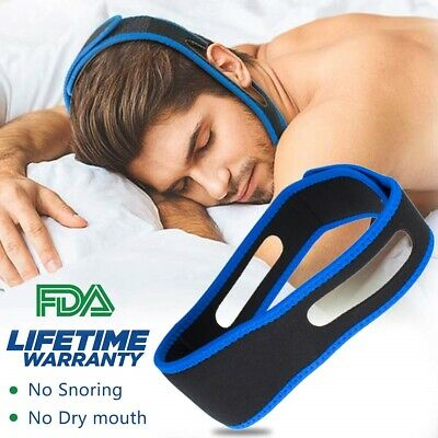Stop Snoring Chin Strap, Comfortable Natural Snoring Solution Snore Stopper