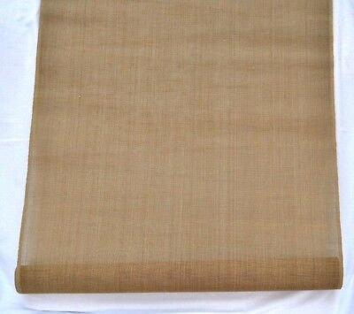 Tapestry Canvas Antique Brown Mono Thread 17 Hpi 1.86 Metres 66Cm 26Inches Wide