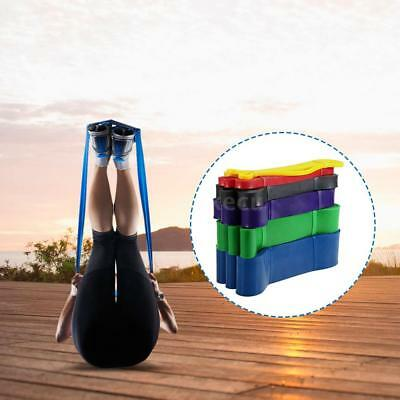 Pull Up Assist Bands Latex Stretch Resistance Loop Bands Yoga Bodybuilding F1B2