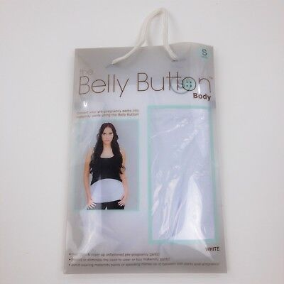 The Belly Button Body Women's Maternity Band New White Small Pregnancy