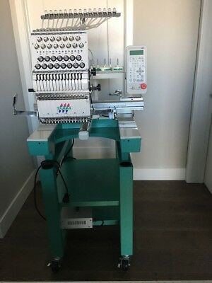 Tajima Single Head 15 needle embroidery machine. Contact us with your Best offer