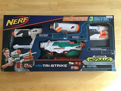 Nerf Tri-Strike Modulus, Brand New In Box