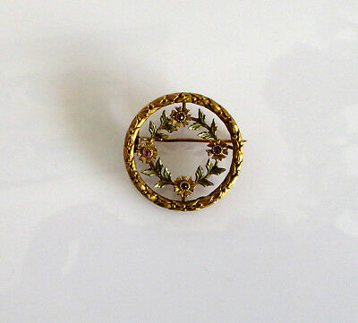 Tres jolie broche ancienne russe en Fix