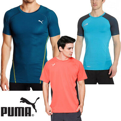 New 2017 Puma Mens Sports Training football Casual GYM t-shirt with Drycell