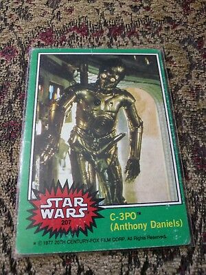 1977 Topps Star Wars C-3PO (Anthony Daniels) X-Rated Error Card
