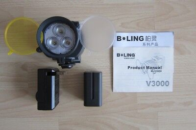 Kameraleuchte Boling BL-V3000 on Camera Light