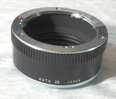 Olympus OM Auto 25 extension ring for macro photography