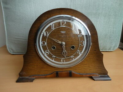 Vintage Smiths Enfield Chiming Mantle Clock