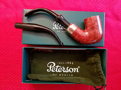 Peterson 309 System Pipe Sherlock Holmes style with extra 4AB stem!