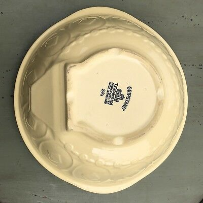 """Vintage Gripstand Mixing Bowl T.G. Green Church Gresley Yellow 24's 9 1/4""""-10"""""""