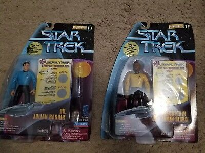 Star Trek Deep Space Nine Warp Factor One Julian Bashir Benjamin Sisko
