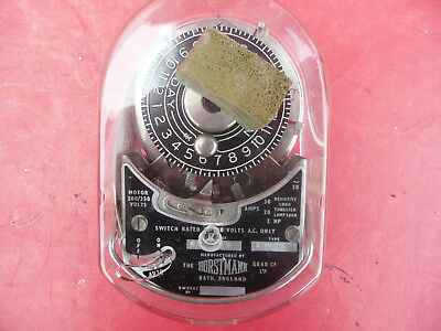 Vintage Industrial Horstmann K MK. II Time Switch Unused - Like Venner