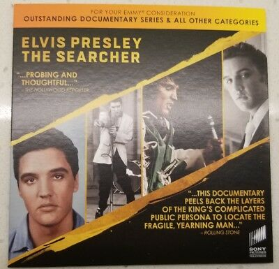 Elvis Presley The Searcher Authorized Promo Emmy Dvd Rare 2018 Documentary 2018