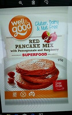 Red Pancake Mix