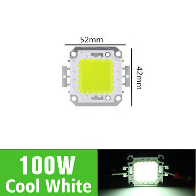 LED 100W 1Pcs Cold white Floodlights For SMD Beads Bulbs Chip NEW Light Lamp