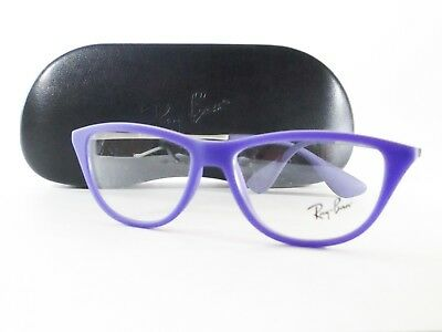 873345c3c9 RAY BAN RX7074 5600 Optical Frame Round Violet Iridescent Glasses ...