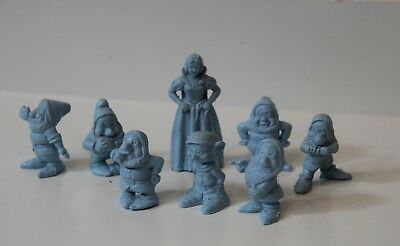 Vintage Snow White and Seven Dwarfs Figurines