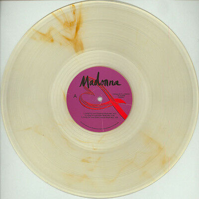 MADONNA - Living for Love Ghosttown 2 clear vinyl performences EP 1000 worldwide