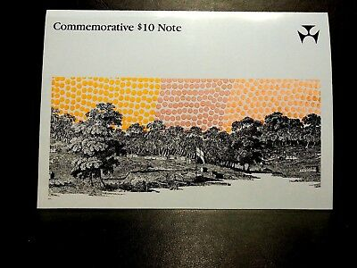 1988 Johnston/Fraser Bicentenary first polymer $10 banknote AA03 UNC