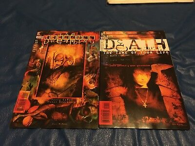 The Dreaming #1 +Death: The Time of Your Life #1 lot of two books. Vertigo