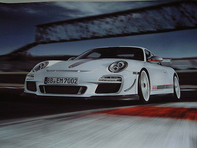 Porsche Factory Issued Showroom Poster Of The Porsche 911 Gt3 Rs 4.0 (No.1)